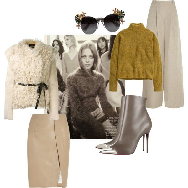 nude hues and knitwear