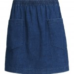 apc denim mini skirt
