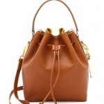 sophie hulme small bucket bag tan