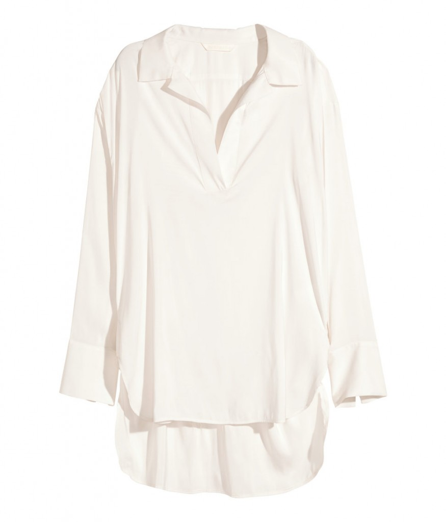 white shirt from hm