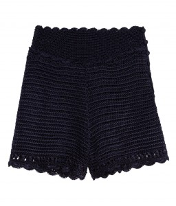 hm Crocheted lace shorts